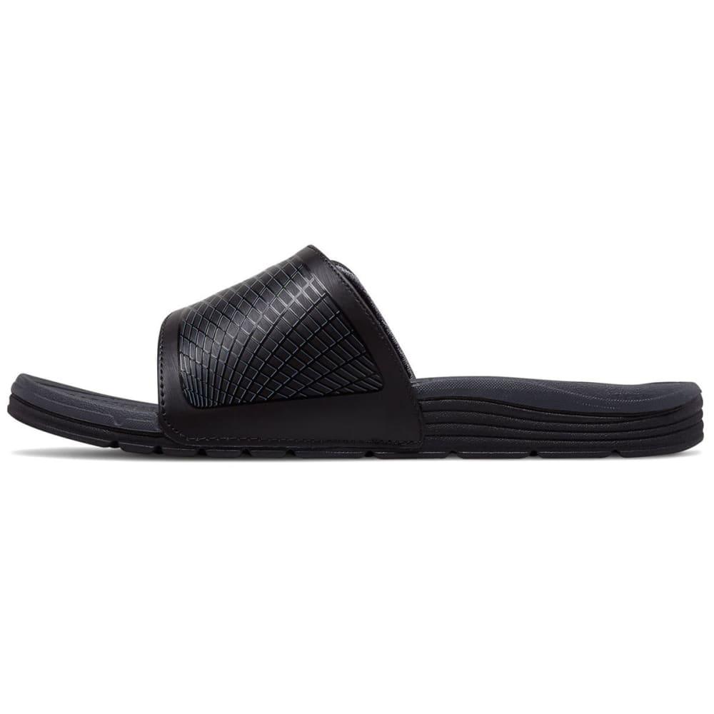 NEW BALANCE Men's Cush+ Slide Sandals, Wide - BLACK