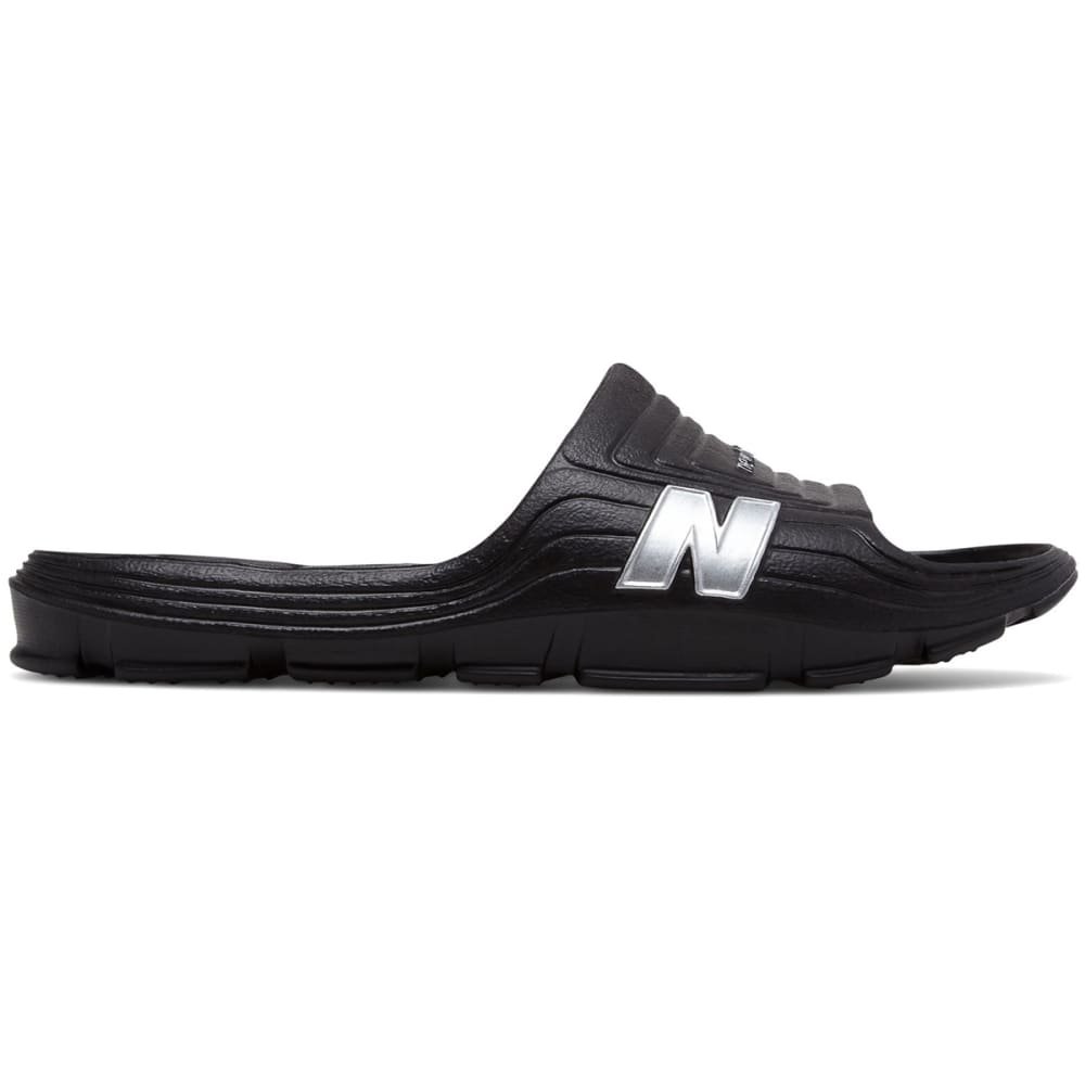 New Balance Men's Float Slide Sandals - Black, 8