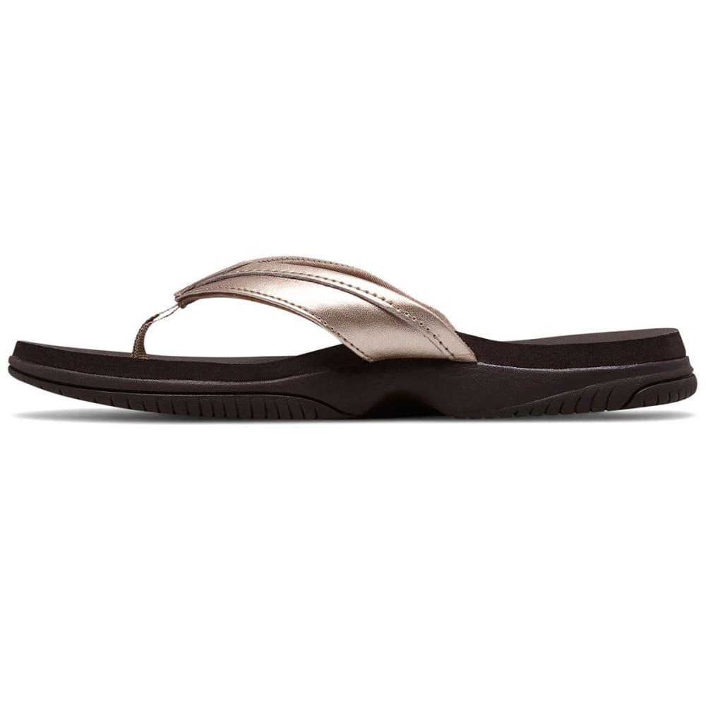 NEW BALANCE Women's Jojo Thong Sandals - ROSE/GOLD