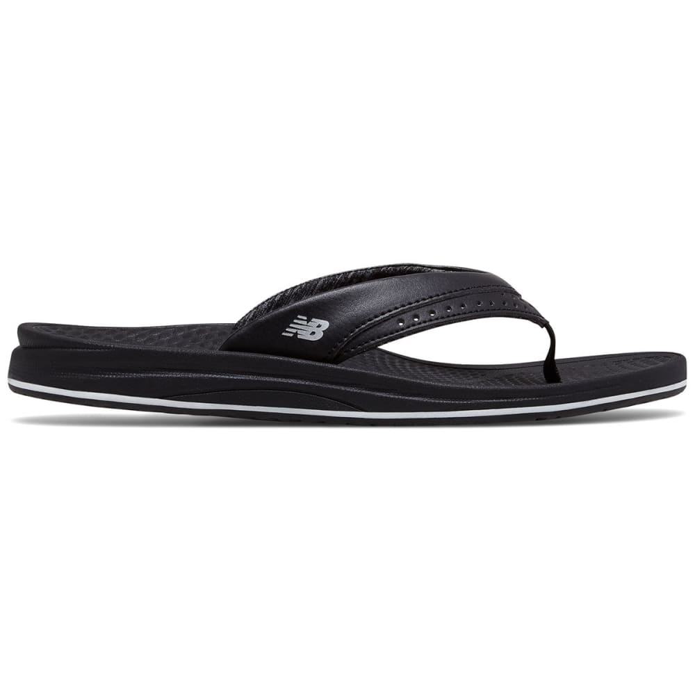 New Balance Women's Renew Thong Sandals - Black, 7