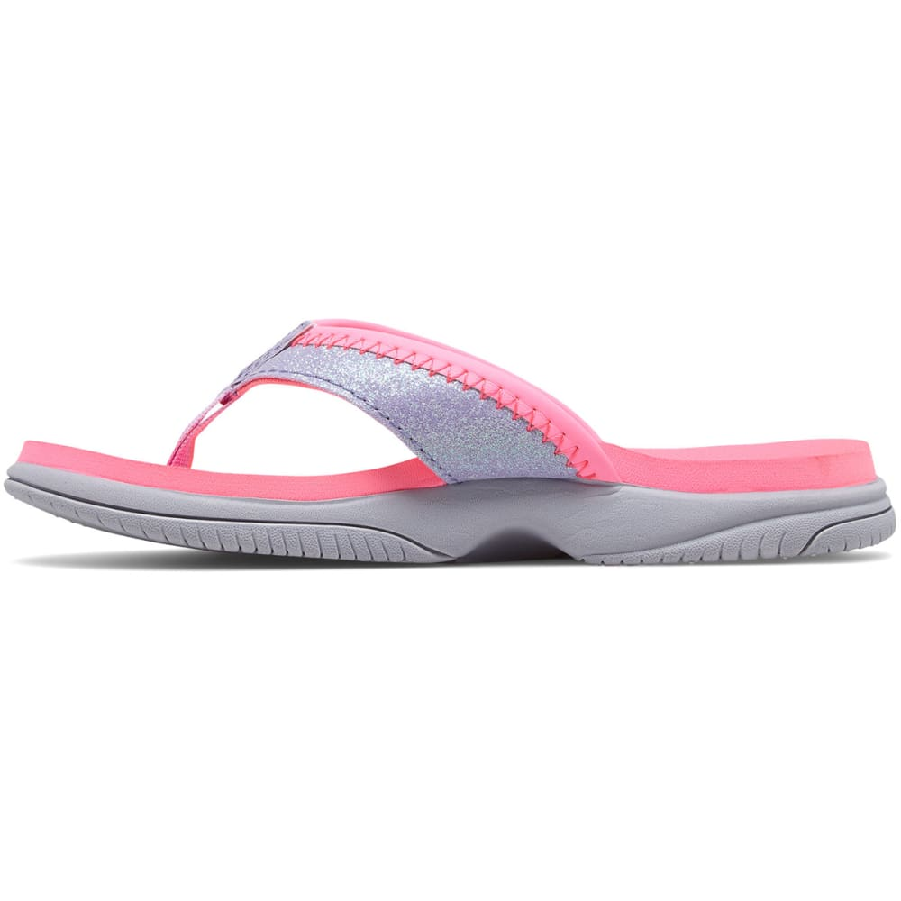 NEW BALANCE Big Girls' Grade School Jojo Thong Sandals - PINK