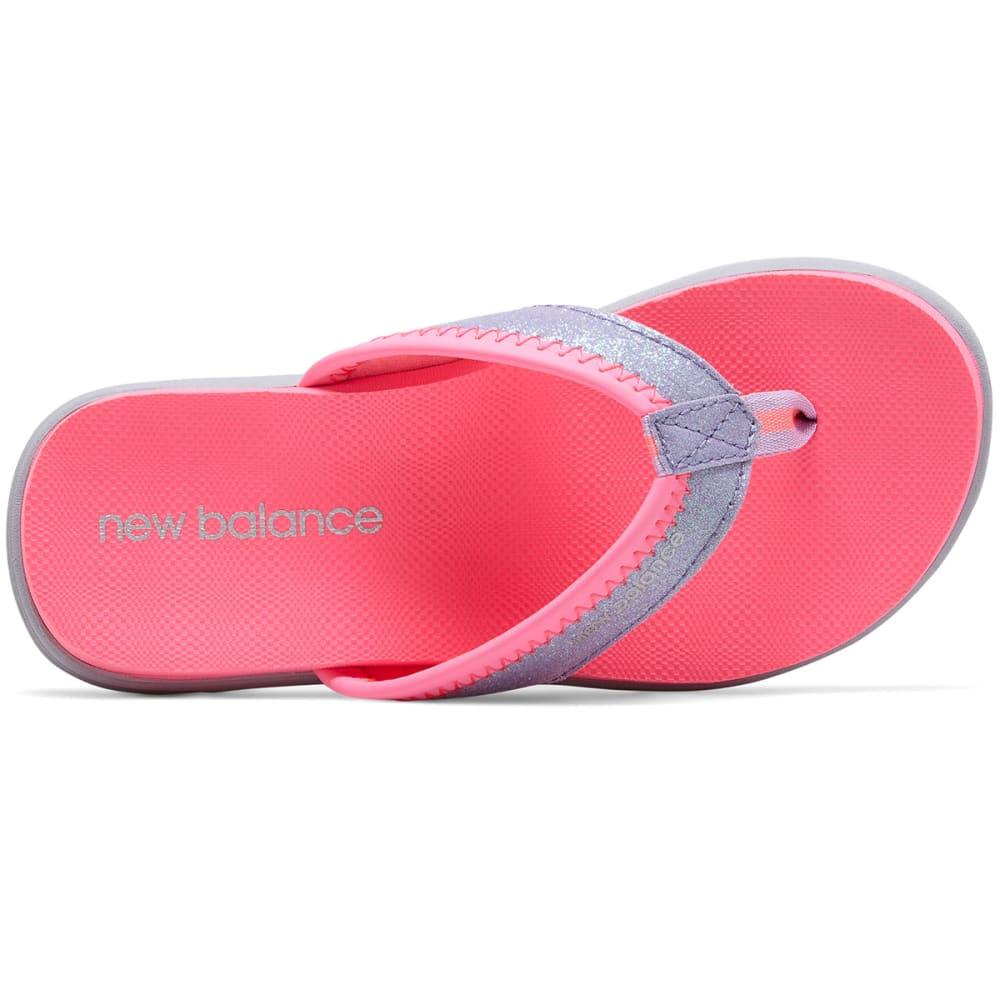NEW BALANCE Big Girls' Grade School Jojo Thong Sandals - PINK