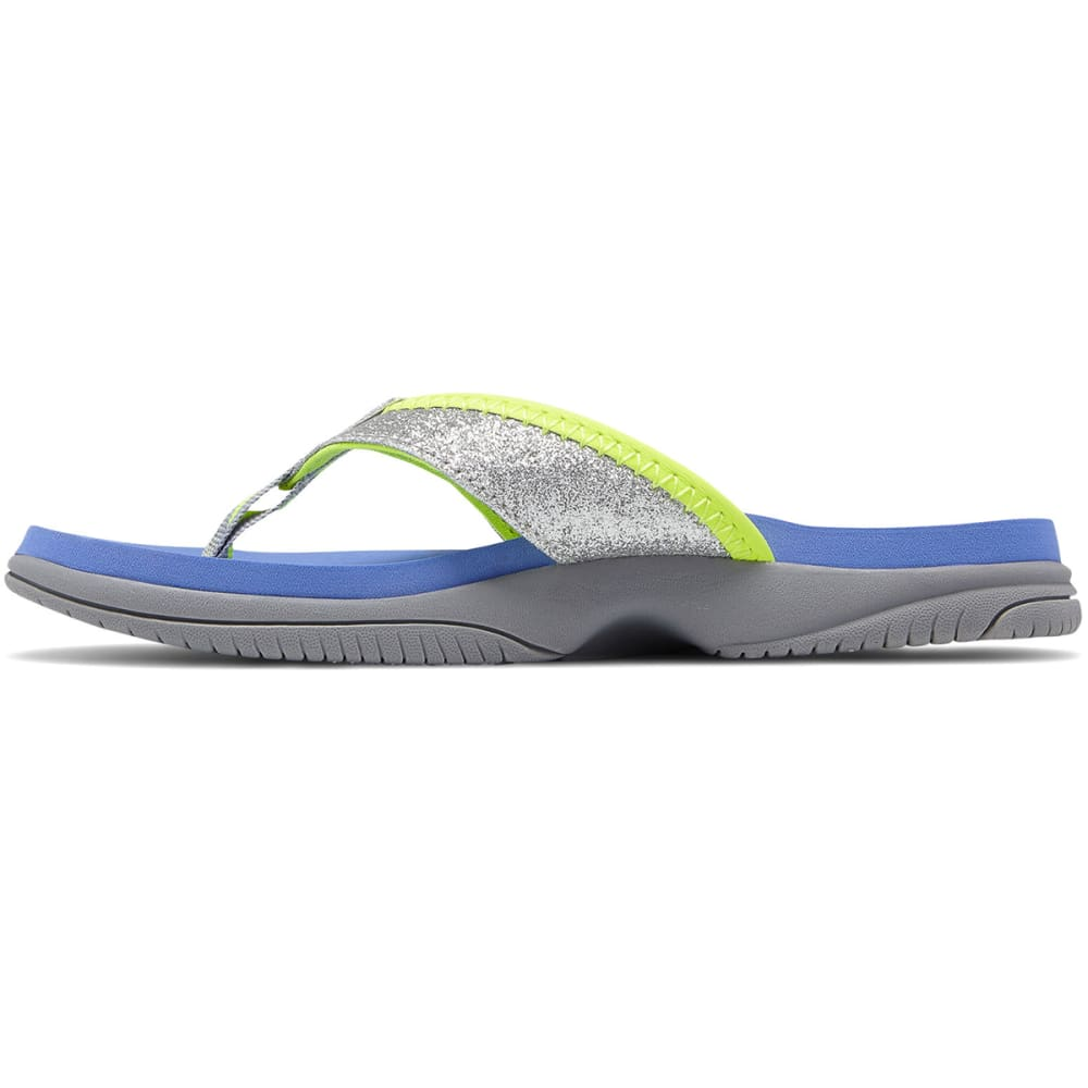 NEW BALANCE Big Girls' Grade School Jojo Thong Sandals - GREY