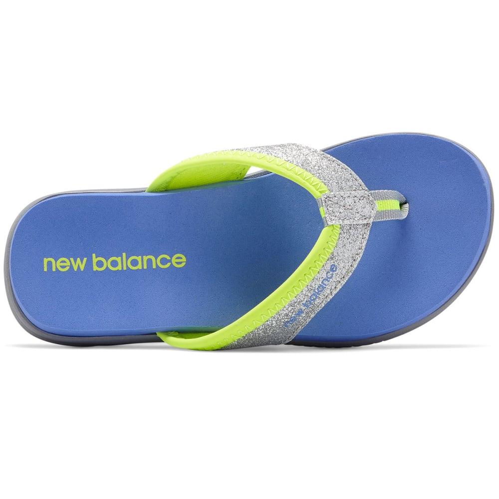 NEW BALANCE Big Girls' Grade School Jojo Thong Sandals - GREY