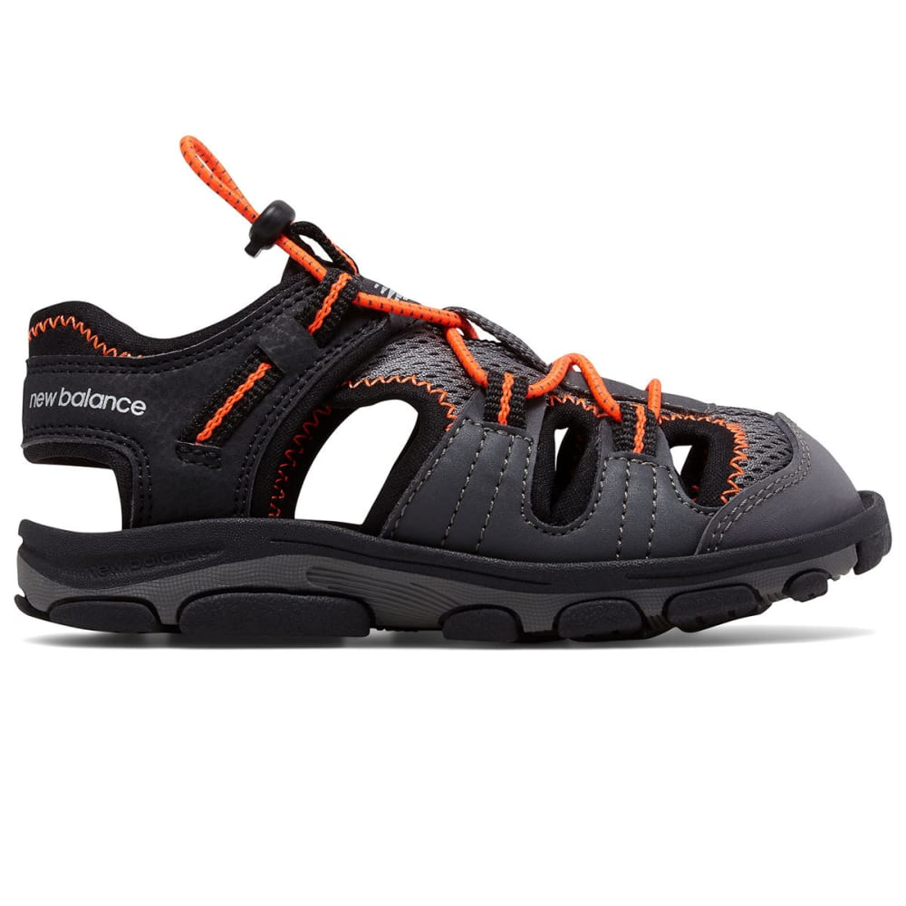 NEW BALANCE Little Boys' Adirondack Sandals, Wide 6