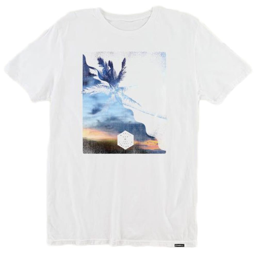 O'neill Guys' Canopy Short-Sleeve Tee - White, S