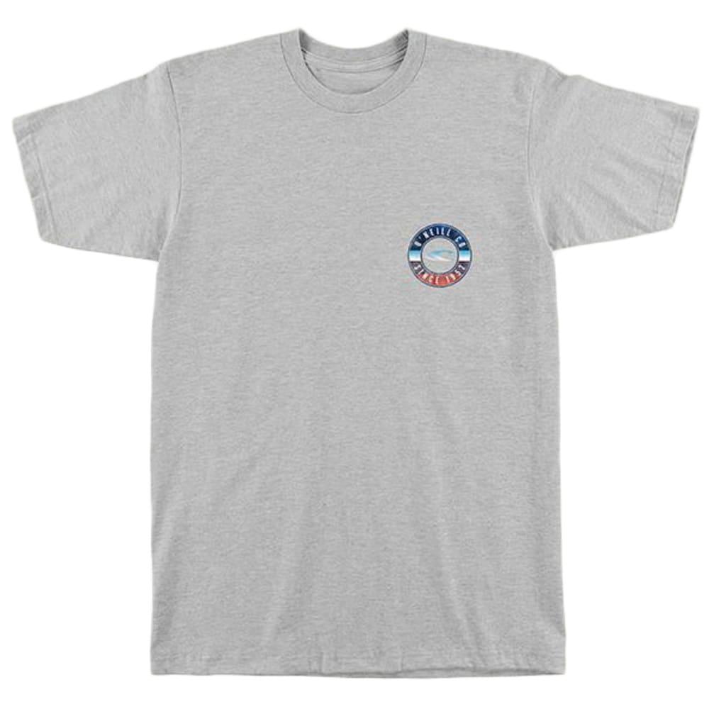 O'NEILL Guys' Supply Short-Sleeve Tee - HTR GRY-HGR