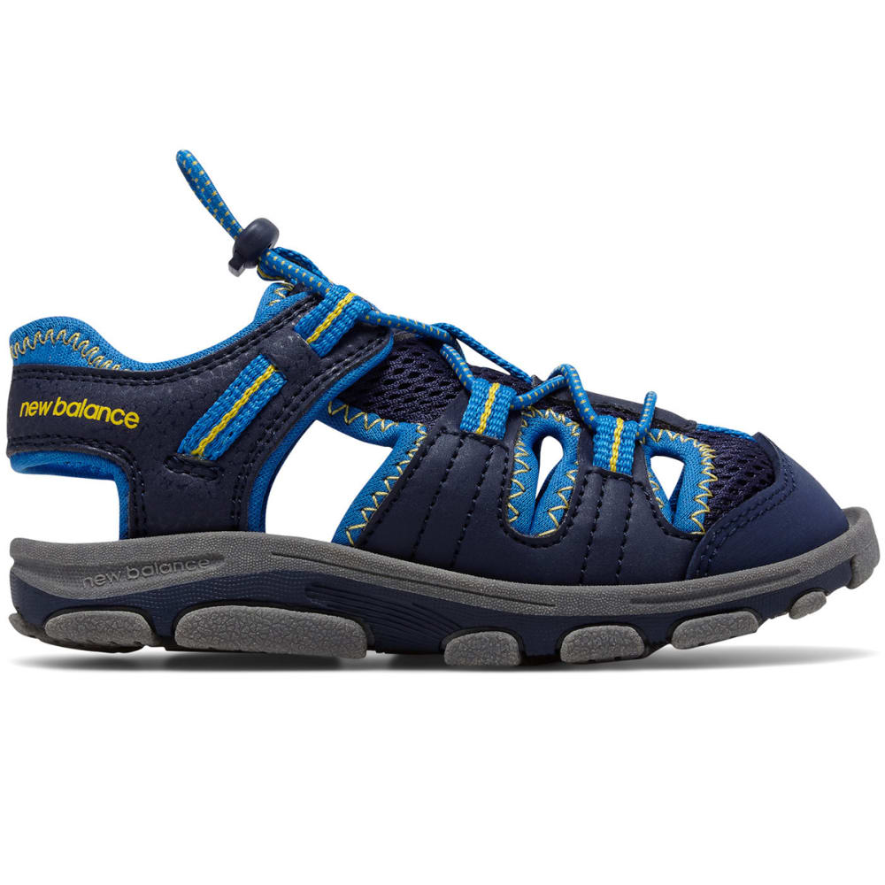 NEW BALANCE Big Boys' Grade School Adirondack Sandals - NAVY