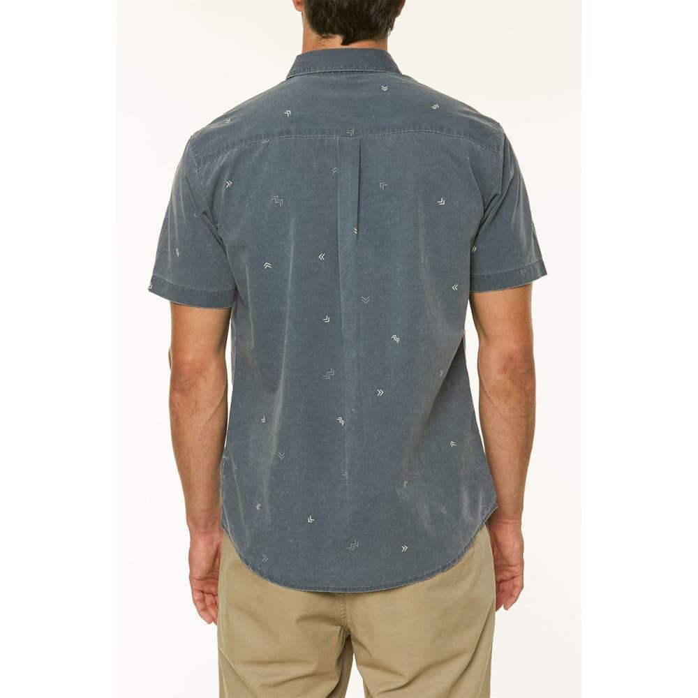 O'NEILL Guys' Kruger Short-Sleeve Shirt - NAVY-NVY