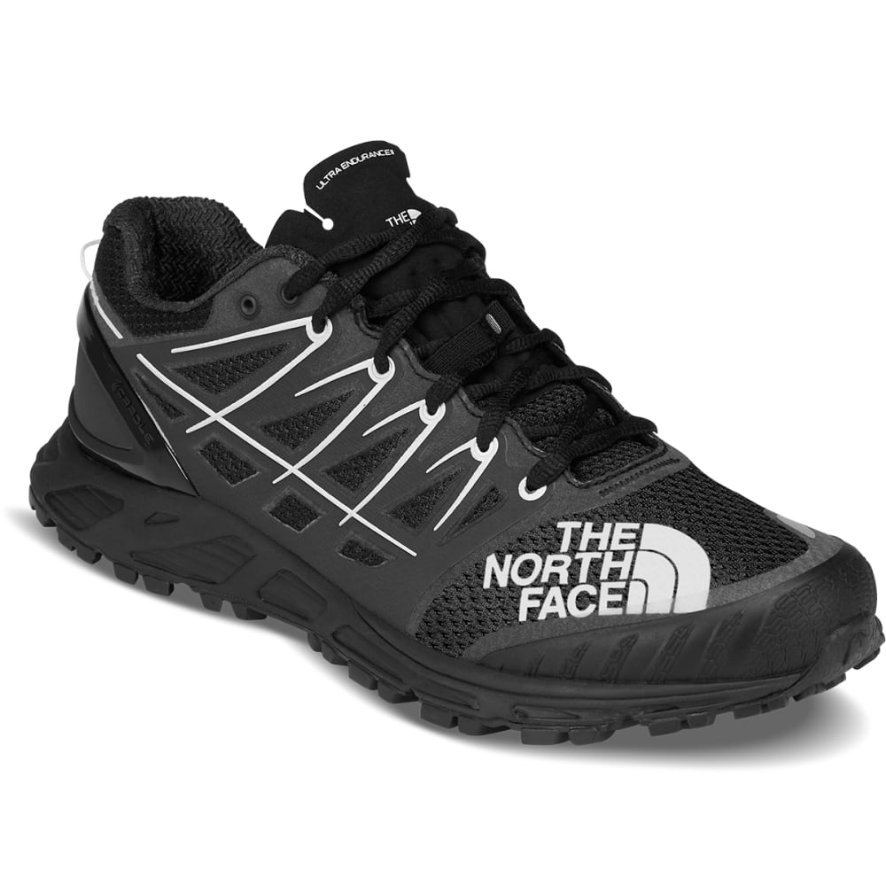 The North Face Men's Ultra Endurance Ii Trail Running Shoes - Black, 8