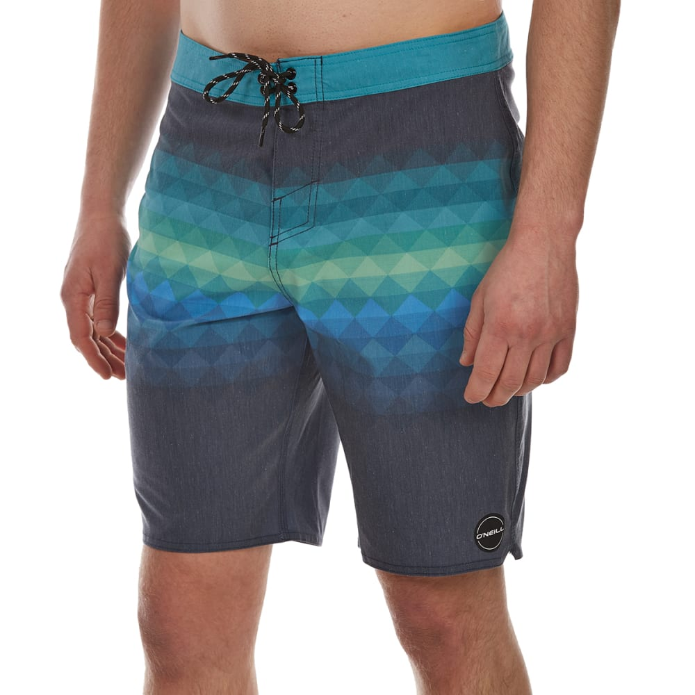 O'neill Guys' Informant Boardshorts - Blue, 30