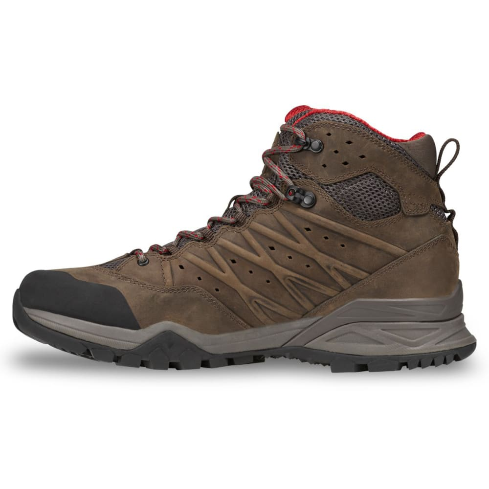 THE NORTH FACE Men's Hedgehog Hike II Mid GTX Waterproof Hiking Boots - BONE BROWN