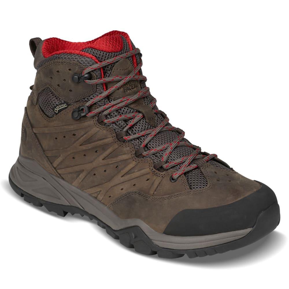 THE NORTH FACE Men's Hedgehog Hike II Mid GTX Waterproof Hiking Boots - BONE BROWN