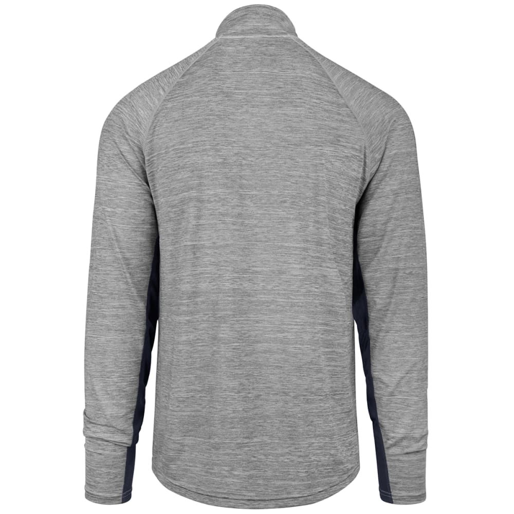NEW YORK YANKEES Men's Evolve '47 Forward ¼-Zip Pullover - GREY