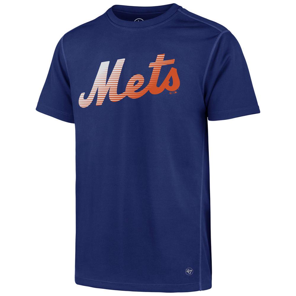 NEW YORK METS Men's '47 Forward Poly Short-Sleeve Tee - ROYAL BLUE