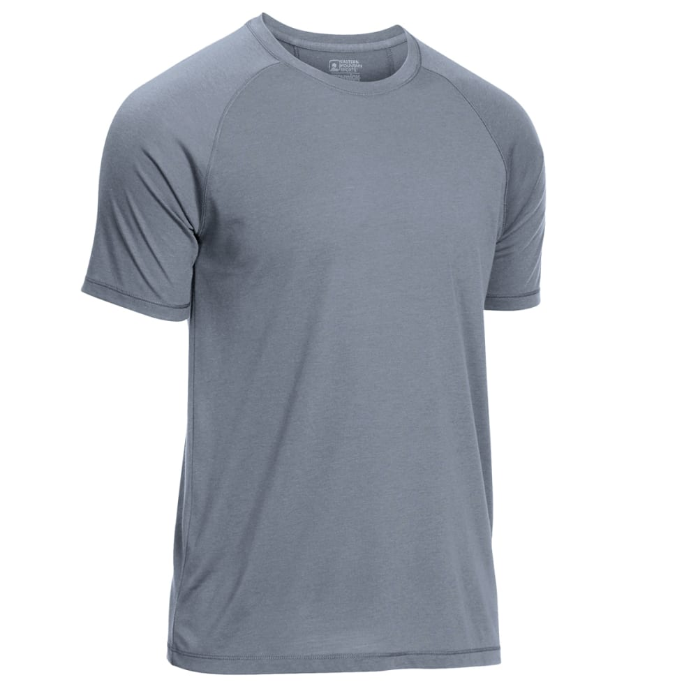 Ems Men's Techwick Vital Discovery Short-Sleeve Tee - Black, XL