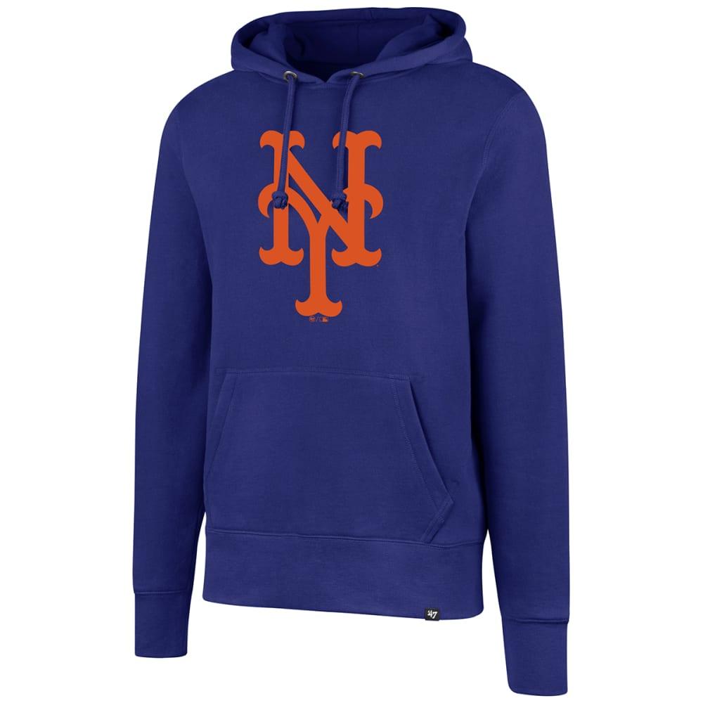 NEW YORK METS Men's Headline Pullover Hoodie - ROYAL BLUE