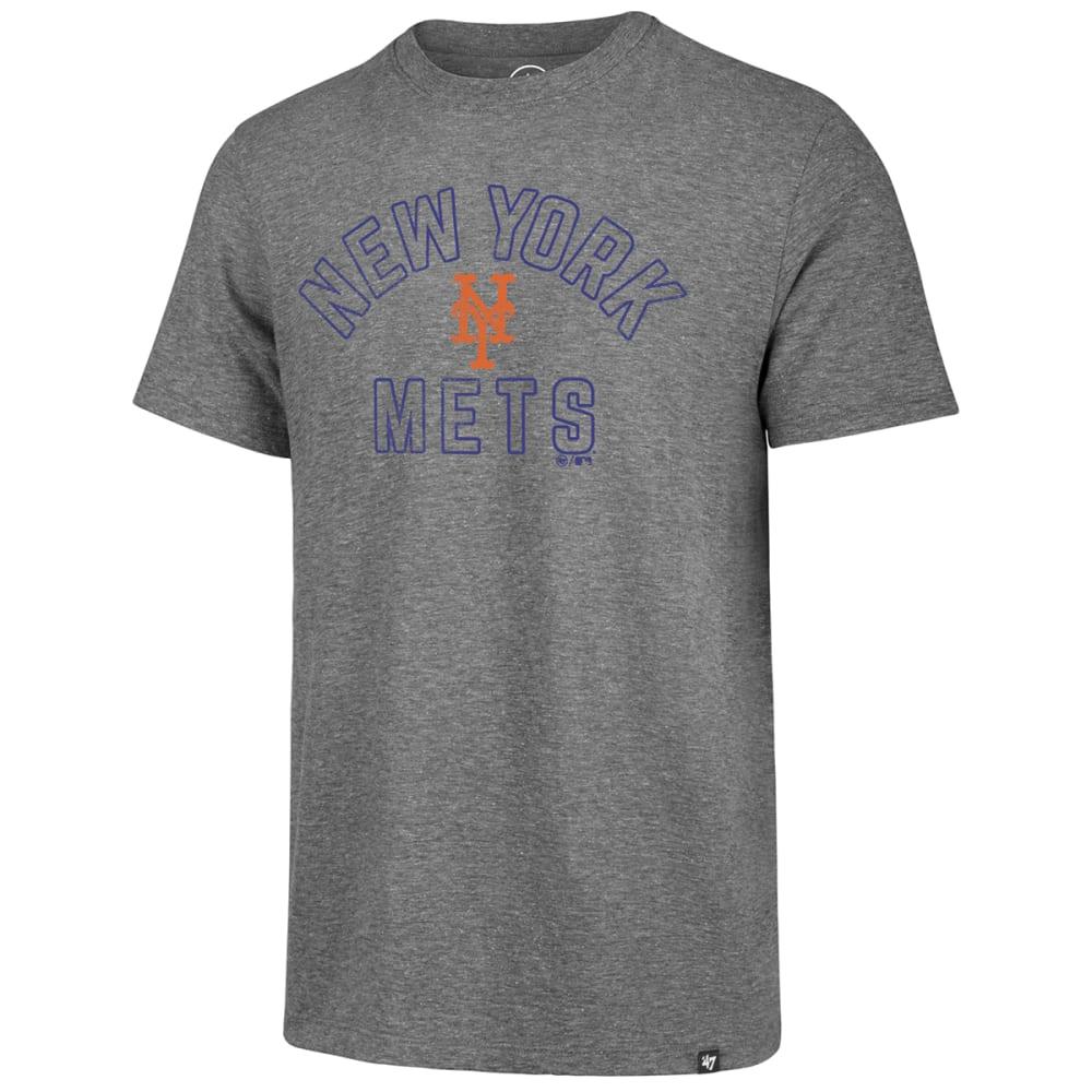 NEW YORK METS Men's Hollow Arch '47 Match Short-Sleeve Tee - GREY