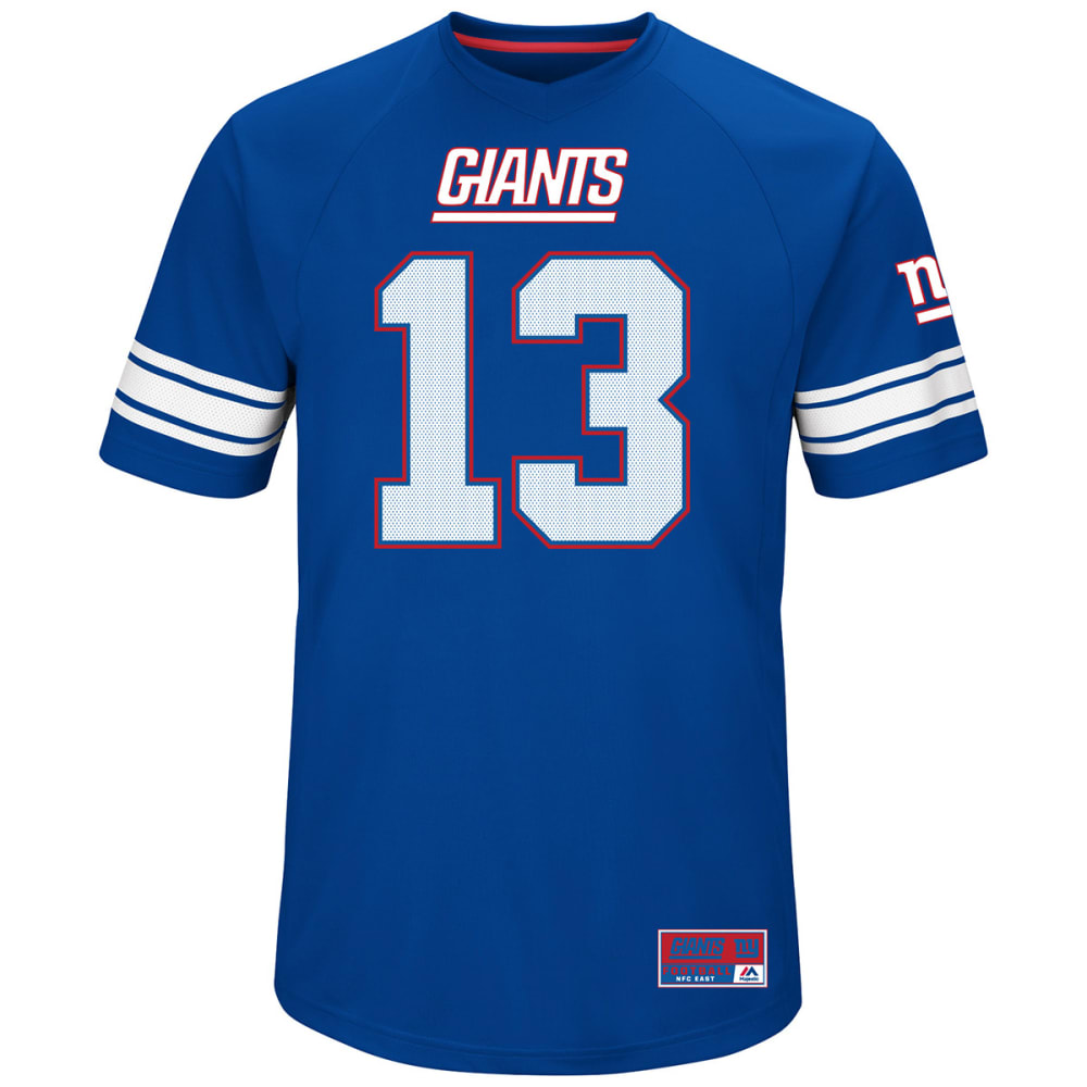 NEW YORK GIANTS Odell Beckham Jr. #13 Hashmark Jersey - ROYAL BLUE