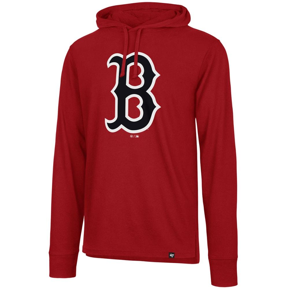 BOSTON RED SOX Men's Imprint '47 Splitter Pullover Hoodie - RED