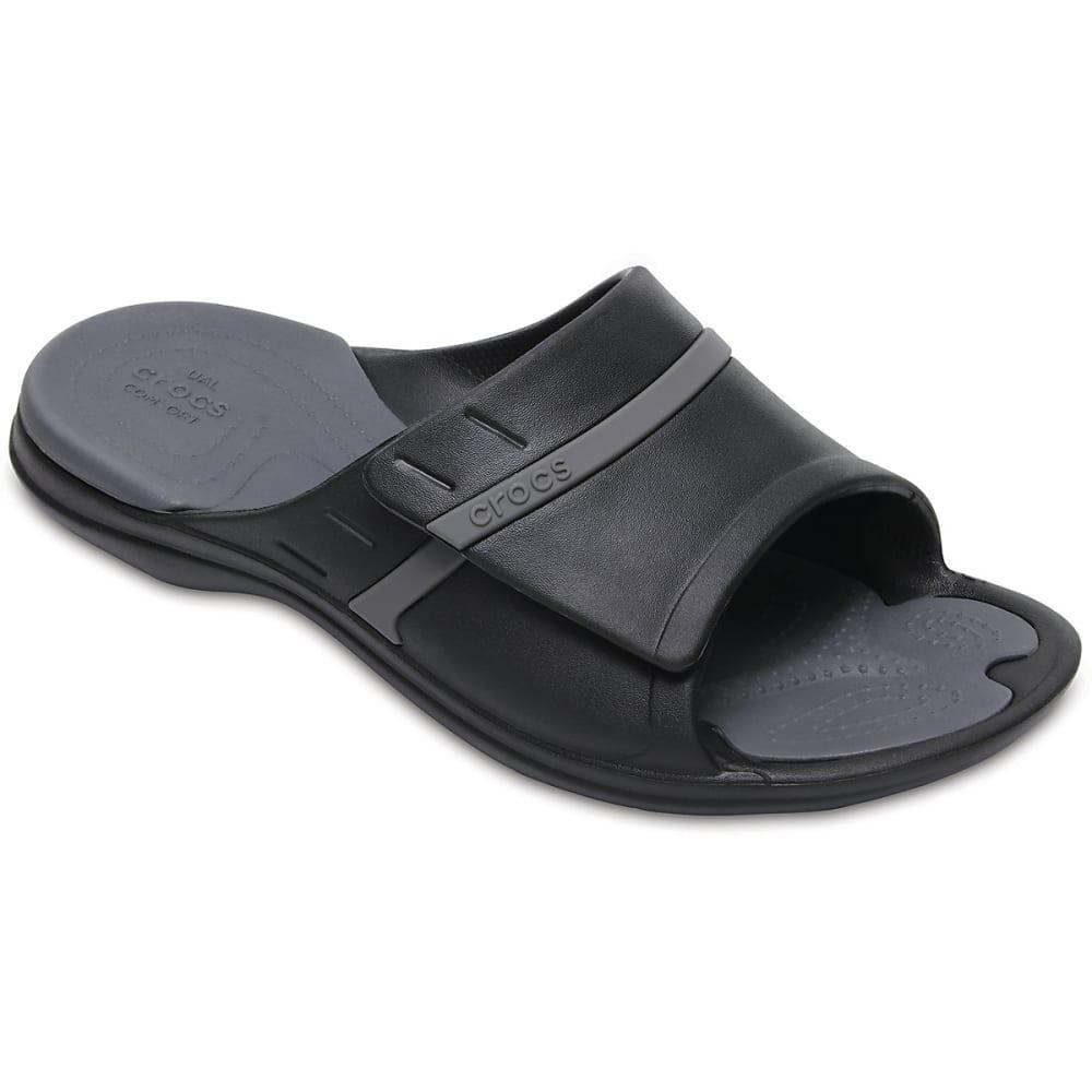 Crocs Unisex Modi Sport Slides - Black, 8