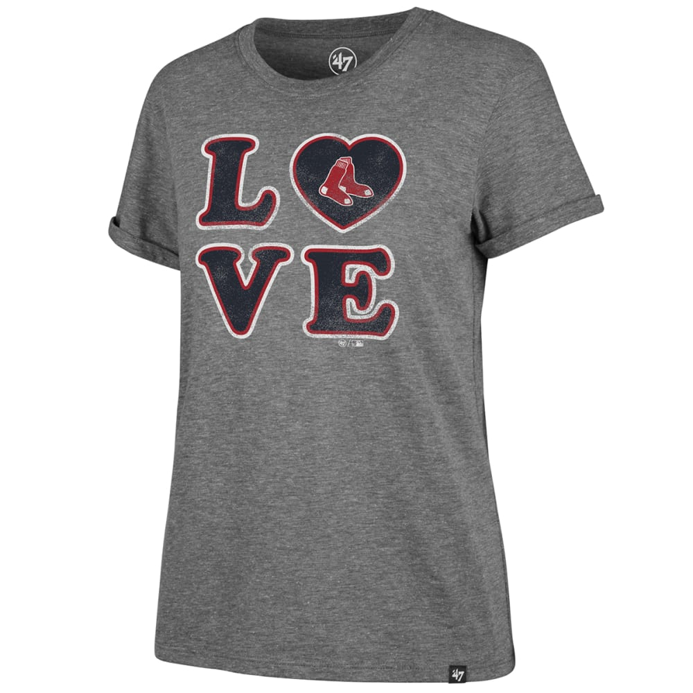 BOSTON RED SOX Women's Love '47 Match Hero Short-Sleeve Tee - GREY
