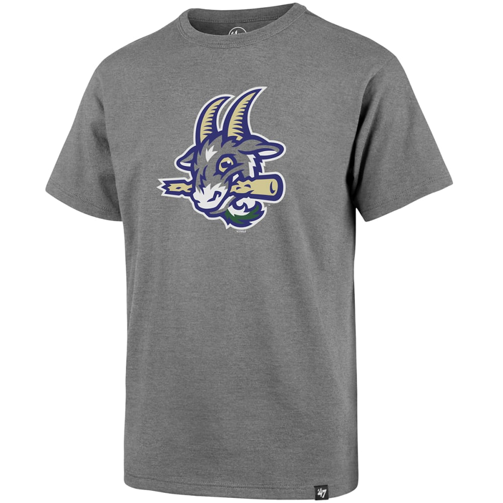 HARTFORD YARD GOATS Boys' Imprint '47 Super Rival Short-Sleeve Tee - GREY