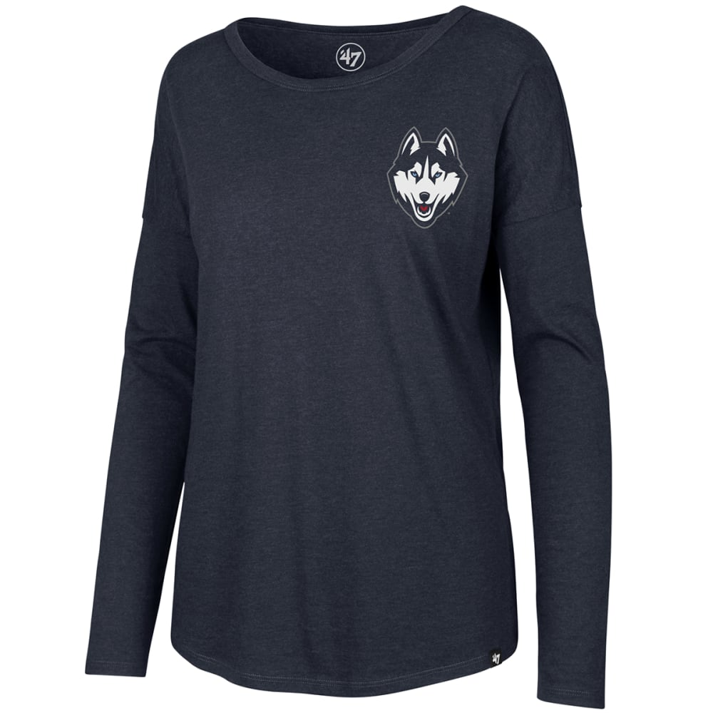 UCONN Women's '47 Club Courtside Long-Sleeve Tee - NAVY