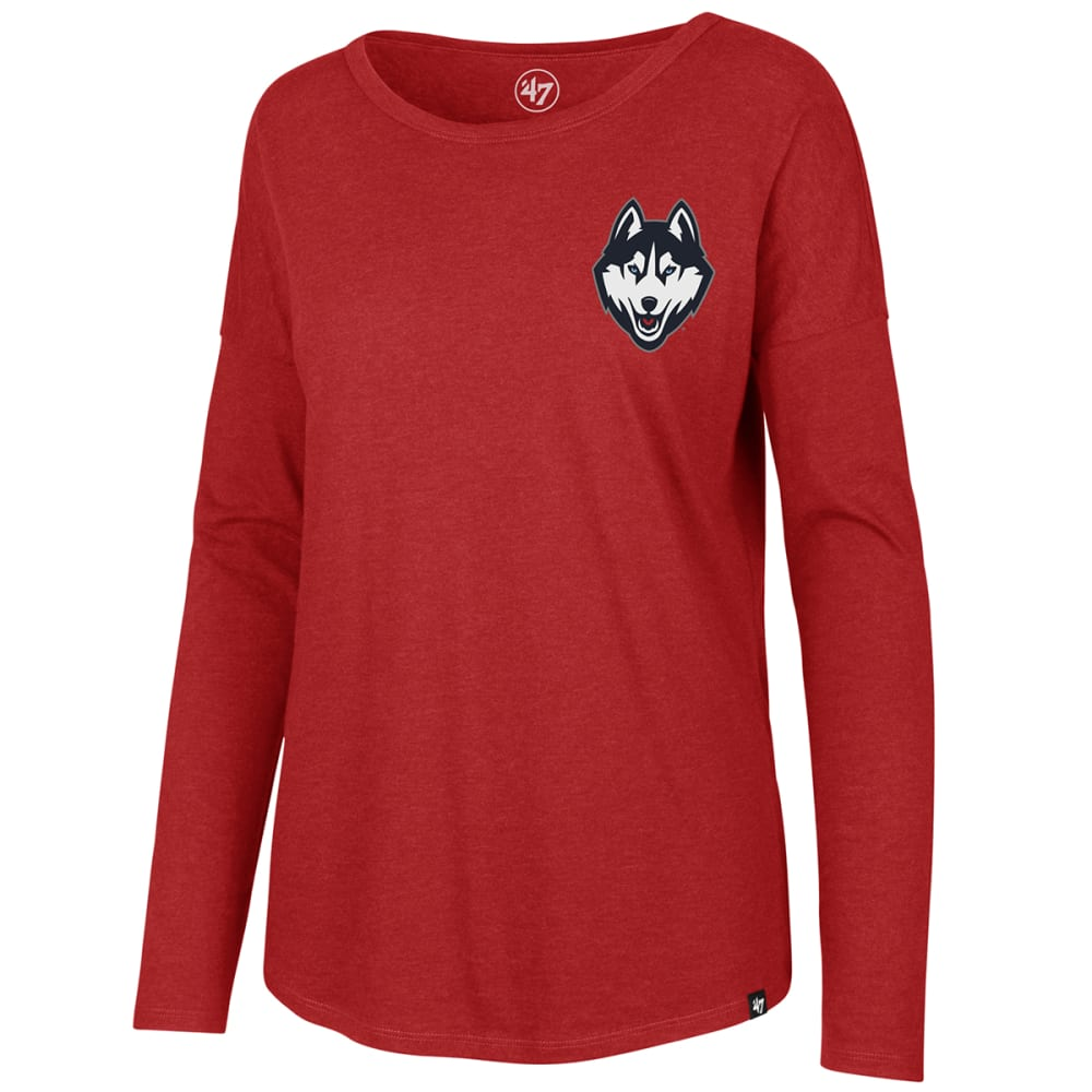 UCONN Women's '47 Club Courtside Long-Sleeve Tee - RED
