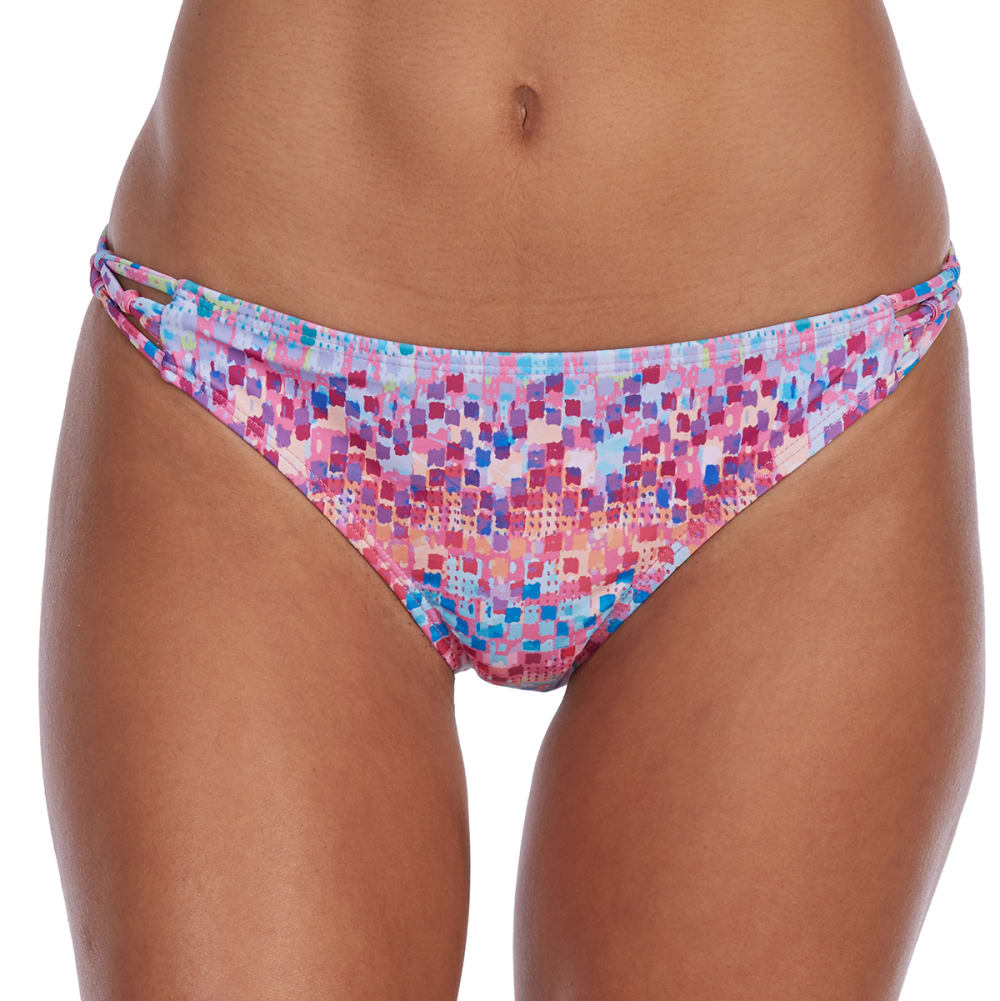 YMI Juniors' Macrame Side Hipster Bikini Bottoms XL
