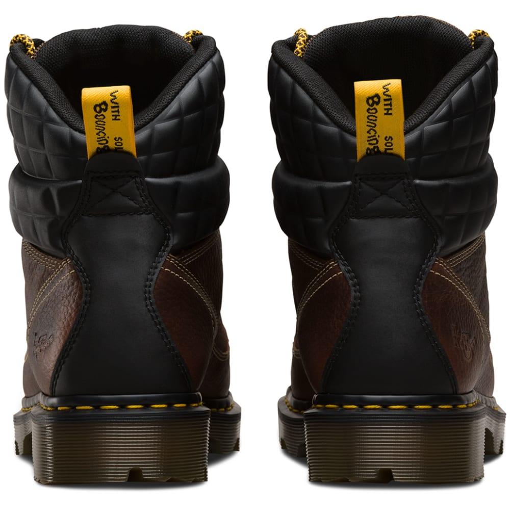 DR. MARTENS Men's 8 in. Camber Steel Toe Work Boots - TEAK BRN