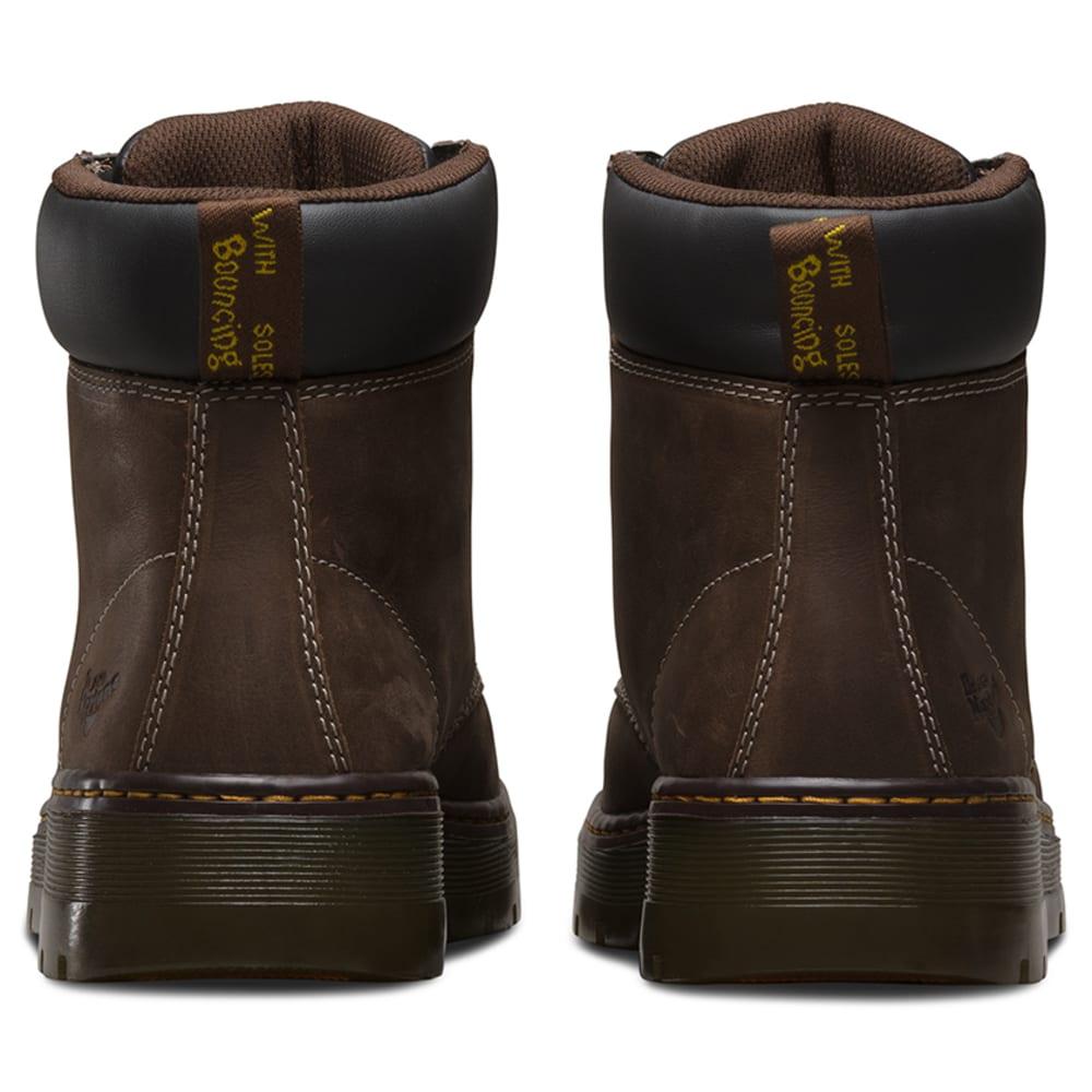 DR. MARTENS Men's 6 in. Winch Steel Toe Work Boots, Dark Crazy Horse Brown - DARK CRAZY HRS BROWN