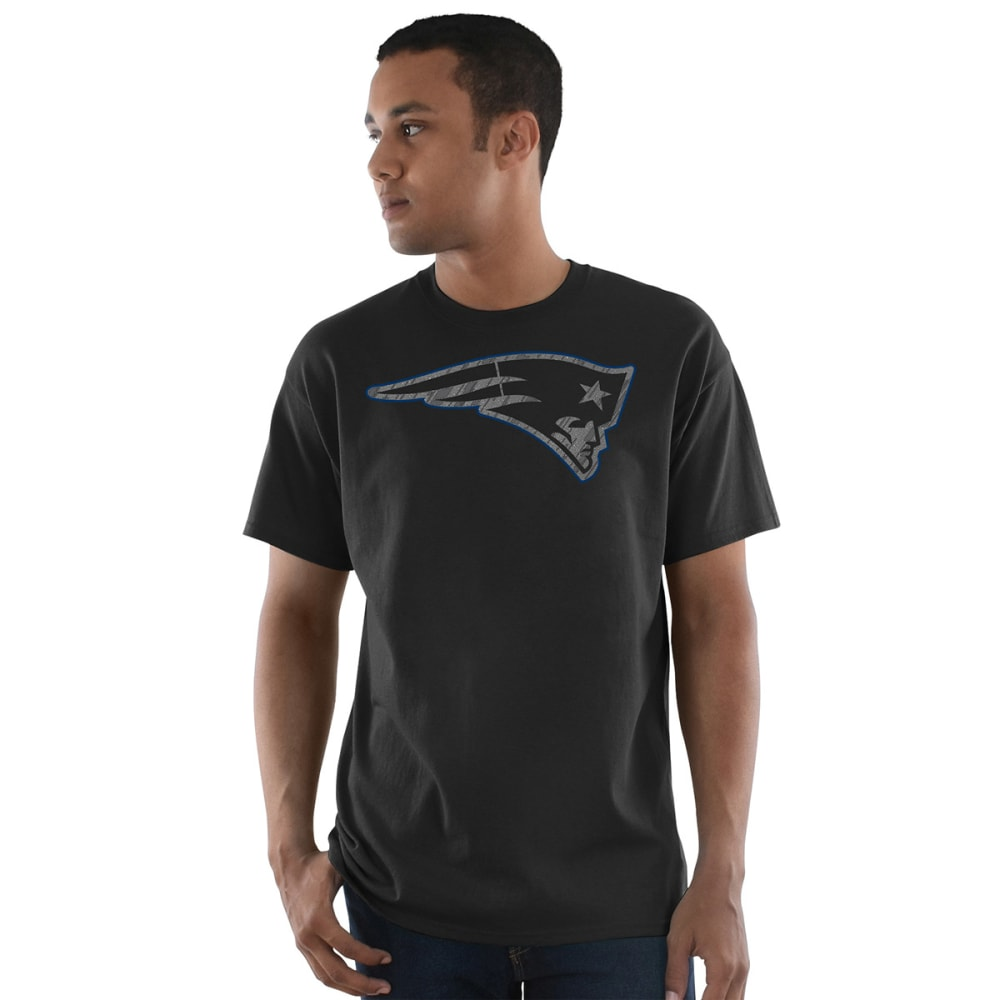 NEW ENGLAND PATRIOTS Men's Primetime Short-Sleeve Tee - BLACK