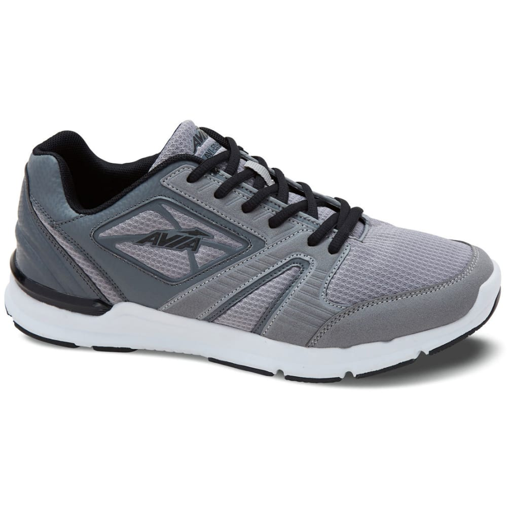 AVIA Men's Avi-Edge Training Shoes, Grey/Steel/Black - GREY