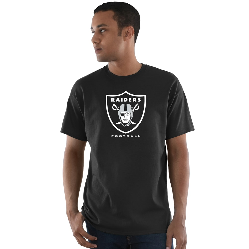 OAKLAND RAIDERS Men's Critical Victory III Short-Sleeve Tee - BLACK