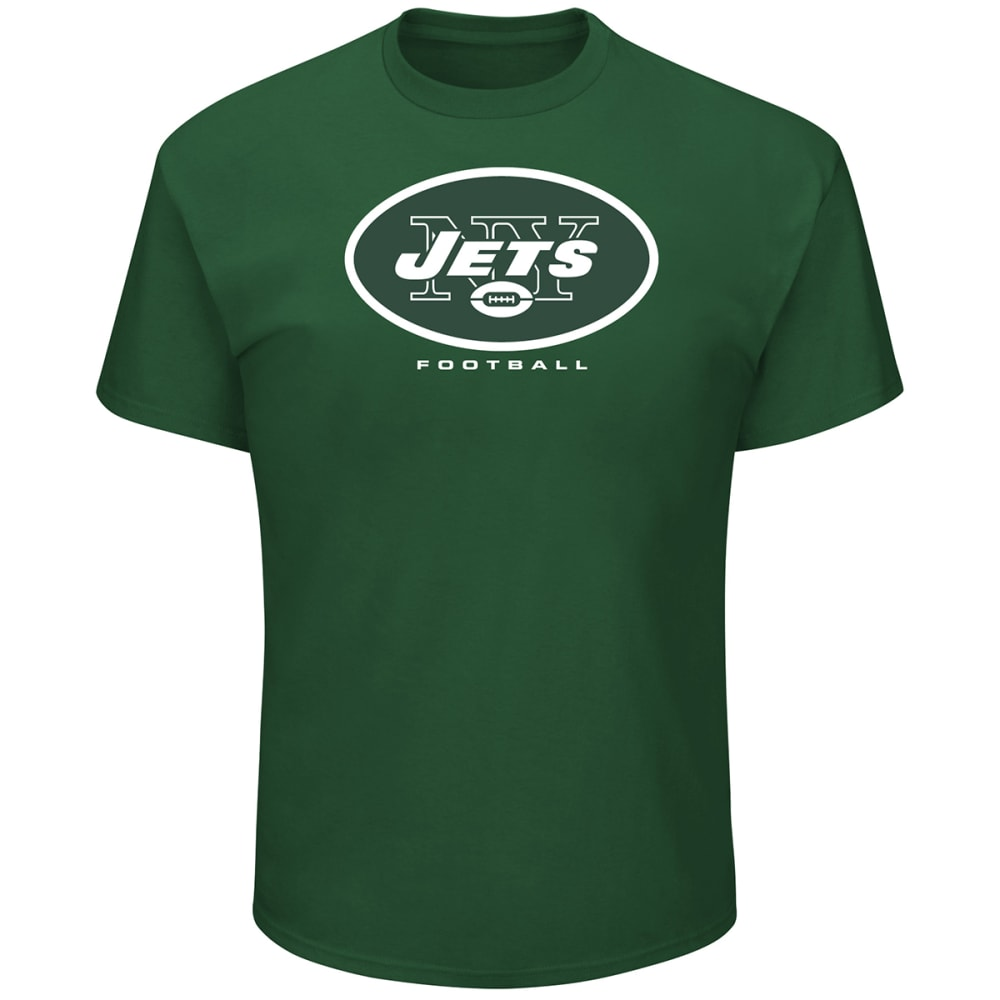 NEW YORK JETS Men's Critical Victory III Short-Sleeve Tee - DK GREEN