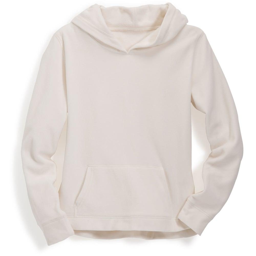 G.h. Bass & Co. Women's Polar Fleece Hoodie - White, M