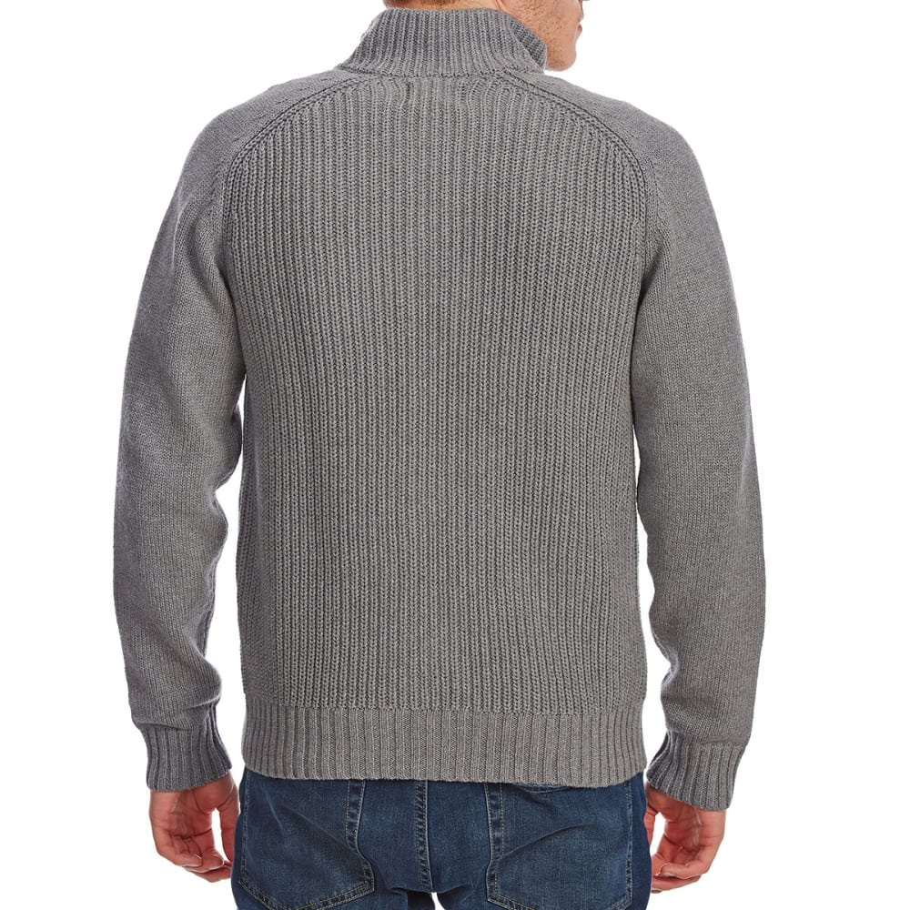 G.H. BASS & CO. Men's Cardigan - MD HTR GRY-063