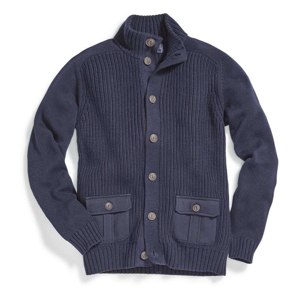 G.H. BASS & CO. Men's Cardigan - CADET NAVY-438