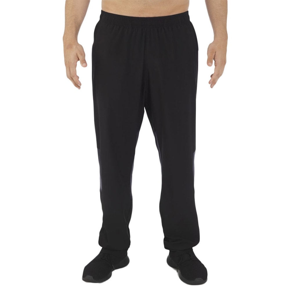 RUSSELL ATHLETIC Men's Stretch Woven Wind Pants - BLACK-BLK