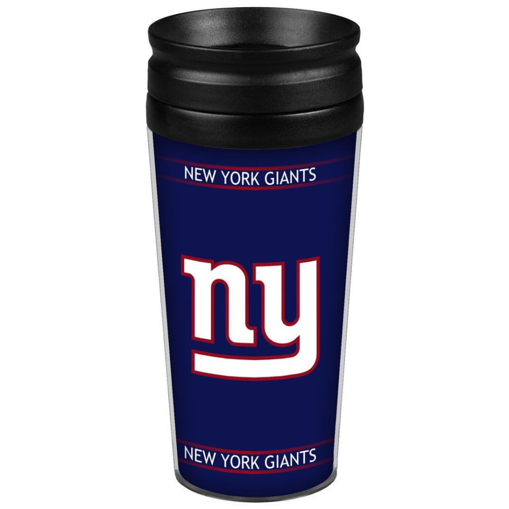 NEW YORK GIANTS 14 oz. Full Wrap Travel Tumbler - ROYAL BLUE