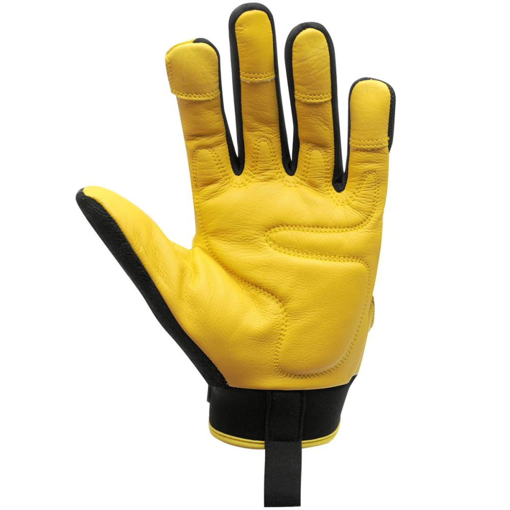 DUNLOP Men's Pro Work Gloves - BLACK YELLOW