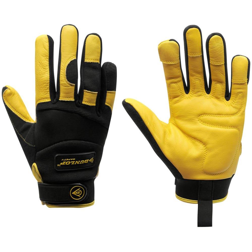 DUNLOP Men's Pro Work Gloves - BLACK YELLOW