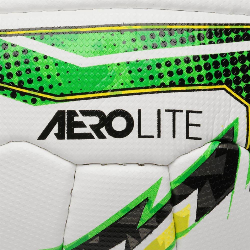 SONDICO Aerolite Soccer Ball - White/Blk/Green