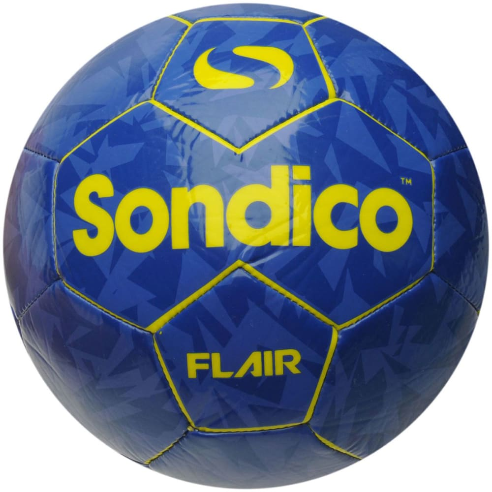 SONDICO Flair Soccer Ball - PURPLE/YELLOW