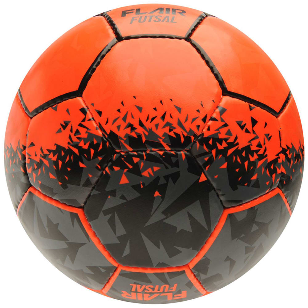SONDICO Flair Indoor Soccer Ball - ORANGE/BLACK