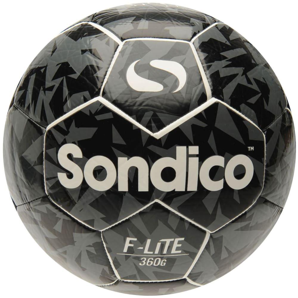 SONDICO Flair Lite Soccer Ball - WHITE/BLACK