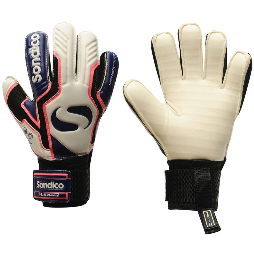 SONDICO AquaSpine Junior Goalkeeper Gloves - White/Purp/Blue