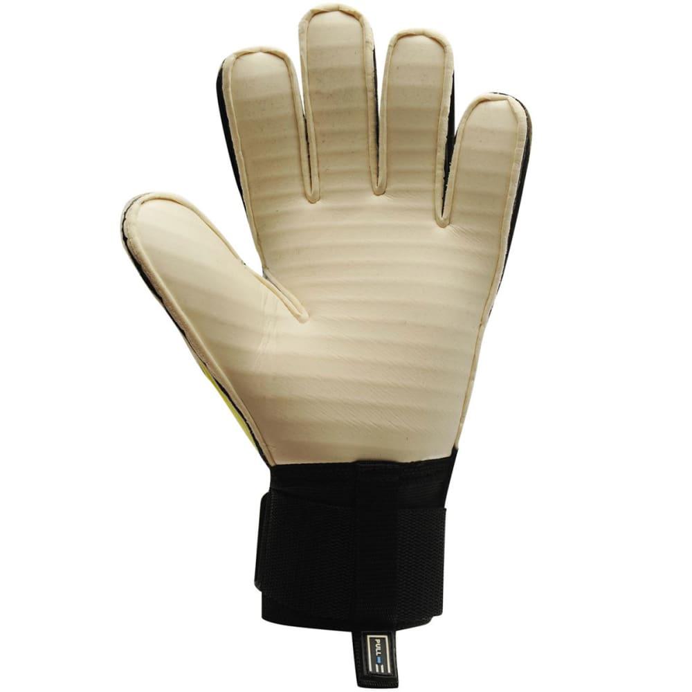 SONDICO Men's AquaSpine Goalkeeper Gloves - WHITE/YELLOW