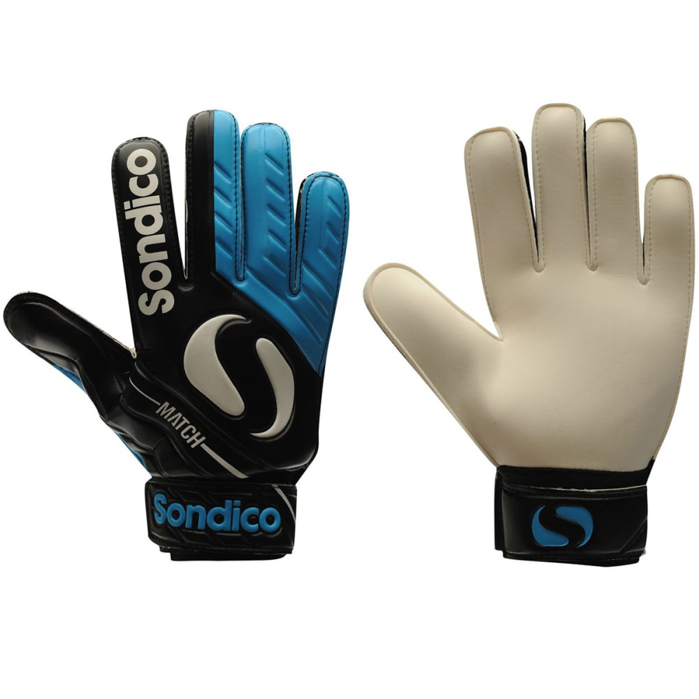 SONDICO Men's Match Goalkeeper Gloves - BLACK/BLUE